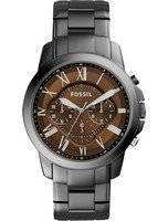 Fossil Grant Chronograph Brown Dial Stainless Steel FS5090 Men's Watch