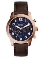 Fossil Pilot 54 Chronograph Quartz FS5204 Men's Watch
