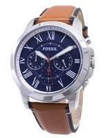 Fossil Grant Chronograph Quartz FS5210 Men's Watch