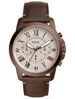 Fossil Grant Chronograph Quartz FS5344 Men's Watch