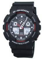 Casio G-Shock Velocity Indicator Alarm GA-100-1A4 GA100-1A4 Men's Watch
