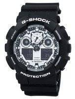 Casio G-Shock White and Black Series Analog Digital GA-100BW-1A GA100BW-1A Men's Watch