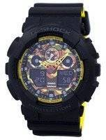 Casio G-Shock Shock Resistant World Time Analog Digital GA-100BY-1A GA100BY-1A Men's Watch