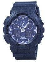 Casio G-Shock Shock Resistant World Time Analog Digital GA-100CG-2A GA100CG-2A Men's Watch