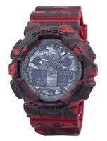 Casio G-Shock Camouflage Series Analog-Digital GA-100CM-4A Men's Watch