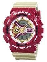 Casio G-Shock Limited Edition Analog Digital Bold Color GA-110CS-4A Men's Watch