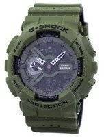 Casio G-Shock Shock Resistant World Time Alarm Analog Digital GA-110LP-3A Men's Watch