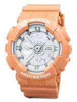 Casio G-Shock Orange Analog Digital GA-110SG-4A Men's Watch