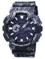 Casio G-Shock Shock Resistant World Time Alarm Analog Digital GA-110TX-1A Men's Watch
