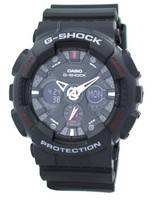 Casio G-Shock GA-120-1A Black Analog Digital Men's Watch