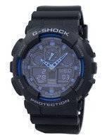 Alarme de hora mundial Casio G-Shock Relógio GA-100-1A2 GA-100