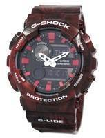 Casio G-Shock G-Lide Analog Digital GAX-100MB-4A Men's Watch