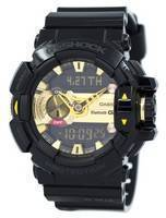 Casio G-Shock G'MIX Bluetooth Smart verden tid Analog Digital GBA-400-1A9 menn klokke