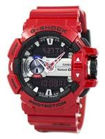 Casio G-Shock G'MIX Bluetooth Smart verden tid Analog Digital GBA-400-4A menn klokke