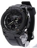 Casio G-Shock G-Steel Multi Band 6 Analog-Digital GST-W100G-1B Men's Watch