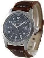 Hamilton Khaki Field Black Dial Quartz H68411533 Men's Watch
