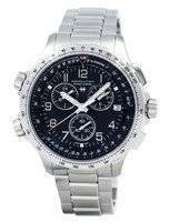 Hamilton Khaki Aviation X-Wind Chronograph Quartz GMT H77912135 Men's Watch