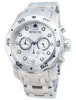 Invicta Pro-Diver Quartz Chronograph Silver Dial 0071 Men's Watch