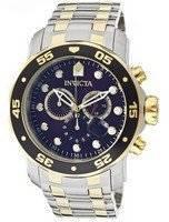 Invicta Pro-Diver Chronograph Blue Dial 0077 Men's Watch