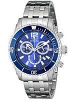 Relógio Invicta II especialidade Blue Dial Chronograph 0620 masculino
