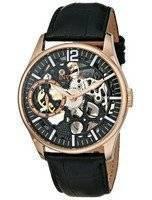 Invicta Vintage Rose Gold-Tone Mechanical Skeleton Dial 12408 Men's Watch