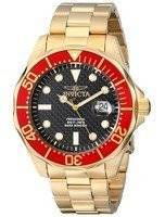 Invicta Pro Diver Gold Tone 200M 14359 Men's Watch
