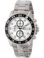 Invicta Pro Diver Chronograph Silver Dial 100M 15206 Men's Watch