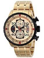 Relógio Invicta aviador Cronógrafo Quartz 17205 masculino