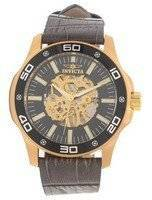 Invicta Specialty Black Skeletal Dial 17261 Men's Watch