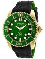 Invicta Pro Diver Automatic WR 300M Green Dial 20202 Men's Watch
