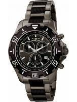 Invicta Specialty Quartz Chronograph Gunmetal 100M 6412 Men's Watch