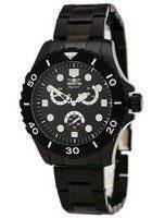 Invicta Signature II Black Dial Chronograph 7369 Men's Watch