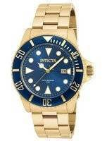 Invicta Pro Diver Quartz Gold Tone 200M 90196 Men's Watch