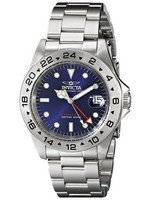 Invicta Date Master GMT 200M Blue Dial 9400 Men's Watch