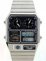 Citizen Ana-digi Thermometer Digital Dual Time JG2000-59E