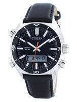 Citizen Quartz Alarm Chronograph Analog Digital JM5460-01E Men's Watch