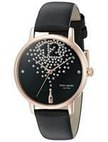 Kate Spade New York Champagne At Midnight Metro Crystals KSW1014 Women's Watch