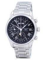 Longines Master Collection Moon Phase Chronograph Automatic L2.773.4.51.6 Men's Watch