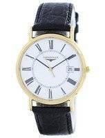 Longines Presence La Grande Classique De Quartz L4.790.2.11.2 Men's Watch