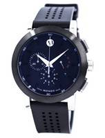 Movado Museum Sport Chronograph Swiss Made Quartz 0606545 Men's Watch