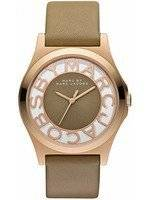 Marc By Marc Jacobs Henry Rose Gold Stainless Steel MBM1245 Ladies Watch