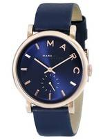 Marc By Marc Jacobs Baker Navy Dial Navy Leather MBM1329 Women's Watch