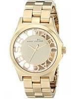 Marc By Marc Jacobs Henry Skeleton Gold Tone Dial MBM3206 Women's Watch