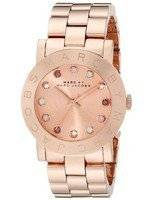 Marc By Marc Jacobs Amy Dexter Glitz Rose Gold Dial MBM3216 Women's Watch