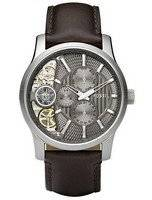 Fossil Multifunction Twist Taupe Cut Away Quartz ME1098 Men's Watch