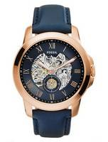 Fossil Grant Automatic Skeleton Dial ME3054 Men's Watch