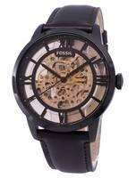 Relógio fóssil Townsman Dial automático esqueleto ME3098 masculino