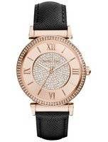 Michael Kors Catlin Rose Crystal-Set MK2376 Women's Watch