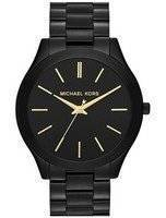 Michael Kors Slim Runway Black Dial MK3221 Women's Watch