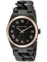 Michael Kors Channing Black Dial MK3415 Women's Watch